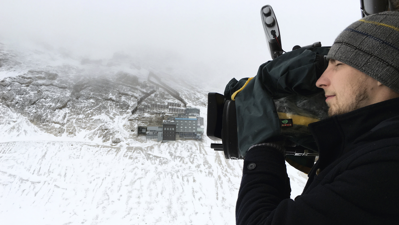 ZDF, Kameramann, ulmedia, Schnee, Bergwacht