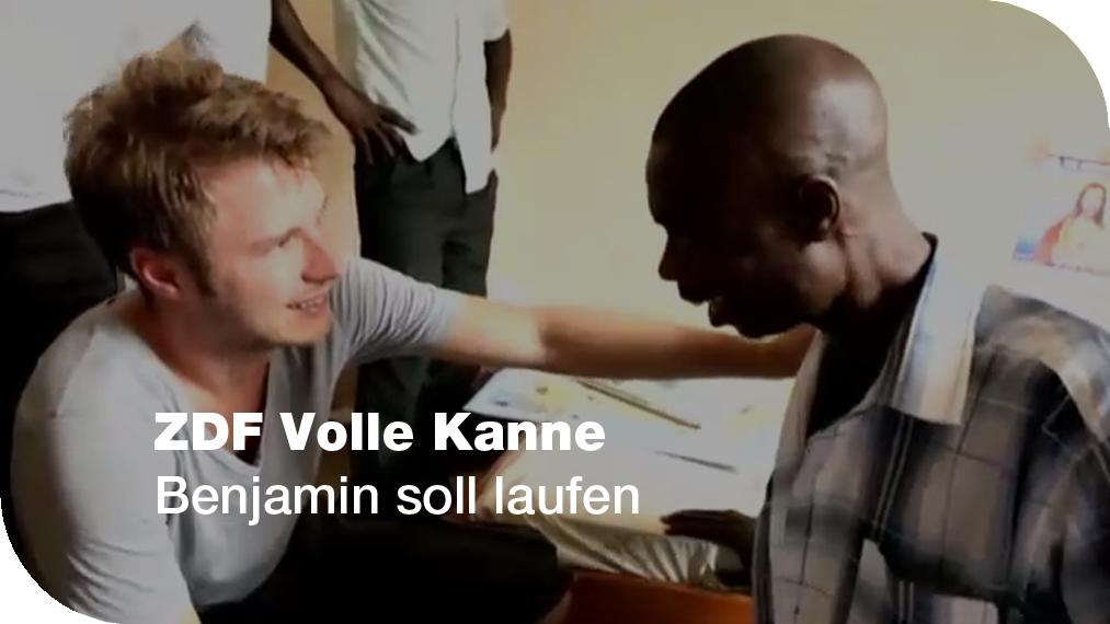 ZDF Volle Kanne Benjamin soll laufen