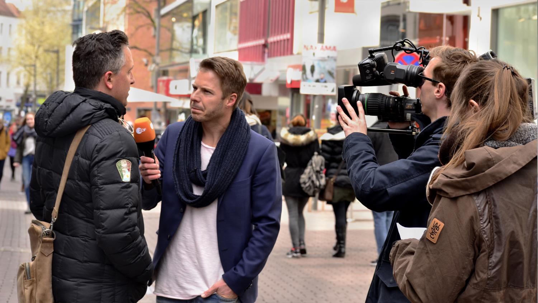 ZDF, Volle Kanne, Besserwisser, Florian Weiss, Umfrage, Kamerateam, ulmedia, Filmproduktion